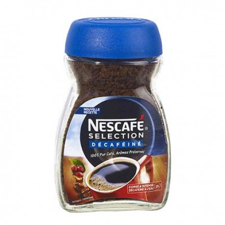 Bocal 50G Selection Rouge Decafeine Nescafe