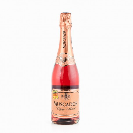 Muscador Muscat Rose 11%V Bouteille 75Cl