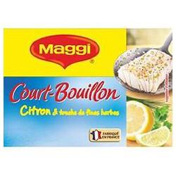 Maggi Court-Bouillon Citron Et Touche De Fines Herbes Maggi 89,6G - 8 Cubes