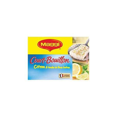 Maggi Court Bouillon Déshydraté Citron/Fines Herbes Maggi 8 Tab