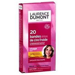 Laurence Dumont Bandelettes Cire Froide X20+Flacon Azulene