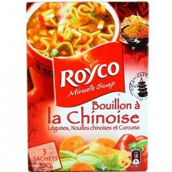 Royco Soupe Déshydratée Les Minutes Soup Les 3 Sachets De 20 Cl