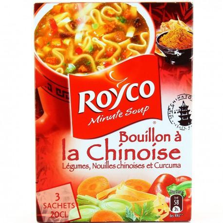 3Saint 0,6L Bouillon Legumes Chinois Royco