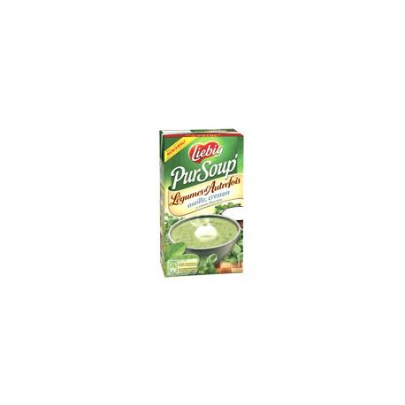 Liebig Soupe Oseille Cresson Creme Fleurette Brique 1L