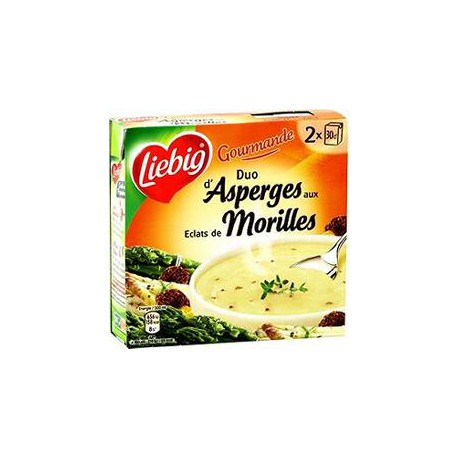Liebig Duo Asperges Morilles 2X30Cl