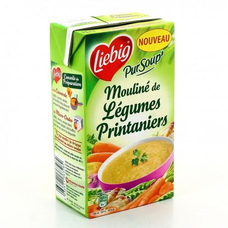 Brick 1L Pursoup Moulinee Legumes Printaniers Liebig