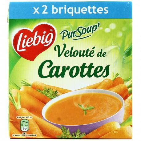Brick 2X35Cl Pursoup Veloute De Carotte Liebig