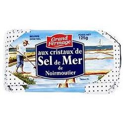 125G Beurre Sel De Mer Noirmoutier Grand Fermage