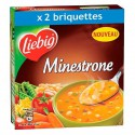 2X35Cl Soupe Minestrone Liebig