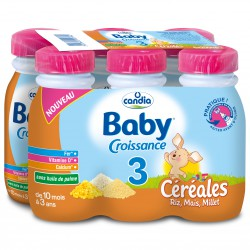 Candia Baby 3 Cereale 6X25Cl