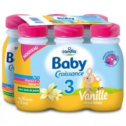Candia Baby 3 Vanille 25Clx6