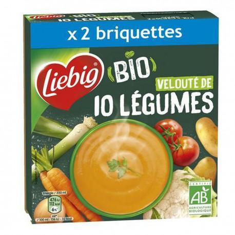 Liebig Velout.10Leg Bio 2X35Cl