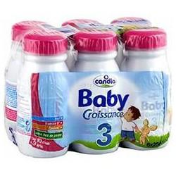 Pack 6X25Cl Croissance Babylait Candia