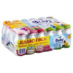 Candia Lait Croissance Jumbo Pack 24X25Cl