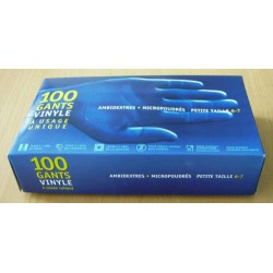 10X100 Gants Vinyl T.S
