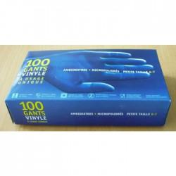 10X100 Gants Vinyl T.M