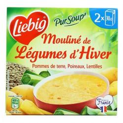 Liebig Soupe Légumes D'Hiver Les 2 Briques De 30Cl