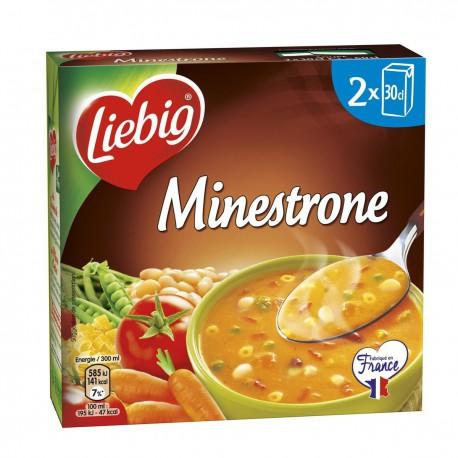 Liebig Soupe Minestrone 30Clx2