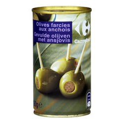 1/2 Olives Farcie Anchois Crf