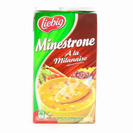 Liebig Potage Minestrone Brique 1L