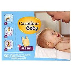 50 Sacs A Couche Carrefour
