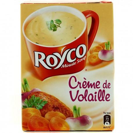 Royco Royco Minute Soup Instles Crémeuses Créme Volaille Saint X4