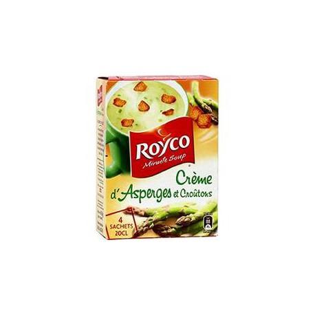 4Saint Soupe Creme Asperge Crouton Royco