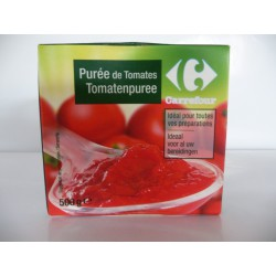 500Ml Brick Puree Tomate Crf