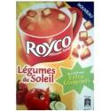 Royco Soupe Déshydratée Légumes Du Soleil Et Croûtons La Boite De 3 Sachets - 63,6G
