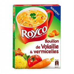 Royco Soupe Déshydratée Volaille/Vermicelles Les 3 Sachets De 20 Cl