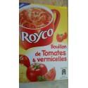 Royco Soupe Déshydratée Tomates Et Vermicelles Les 3 Sachets - 42G