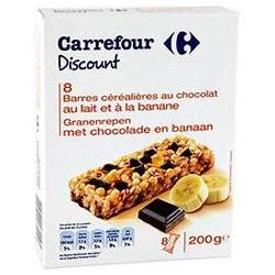 200 G Barre Choc/Bana
