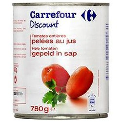 4/4 Tomates Entiere Pelees