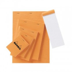 Rhodia Bloc Notes N°12 80 Pages Petits Carreaux 85X12Cm