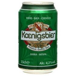 Bte 33Cl Biere Koenigsbier 4,2°
