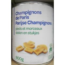 4/4 Champignons Pieds&Morceaux