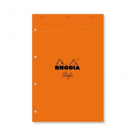 Rhodia Bloc Perf.21X31.8 5X5