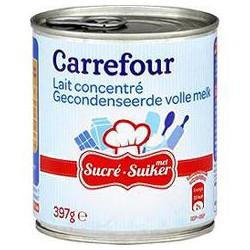 397G Lait Concent.Sucre 8% Crf