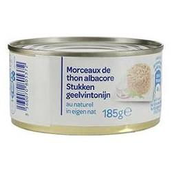 1/4 Morceaux Thon Nature Albacor