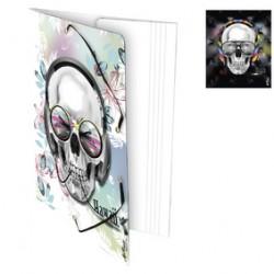 Skull.Chem.3 Rbts 24X32 Polyp