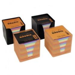 Rhodia Cube Boitier 10X10Coul