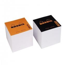 Rhodia Blc Cube Encolle 9X9X8