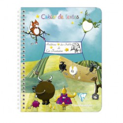 Clairf. Cah Texte Fable 17X22