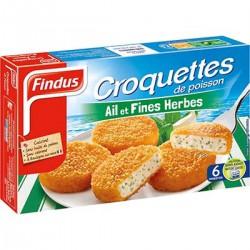 Findus Croquettes Ail Et Fines Herbes Findus Surgelé X6 300G