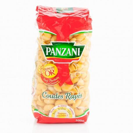 Panzani Pâtes Coudes Rayés Panzani Cellophane 500G
