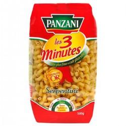 Panzani Pâtes Serpentini 3 Minutes 500 G