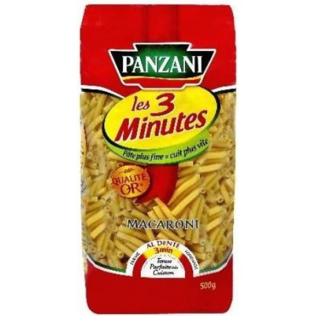 500G Macaroni Cuisson Rapide Panzani
