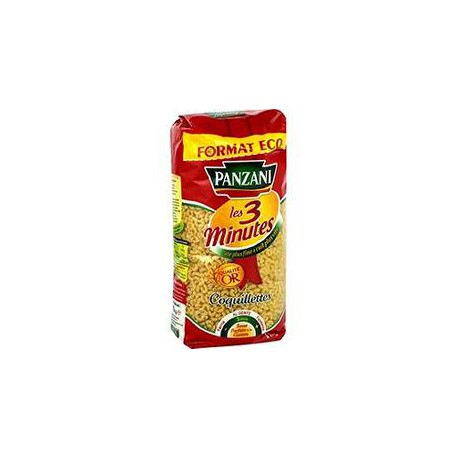 Panzani Coquillettes Cuisson Rapide 1Kg