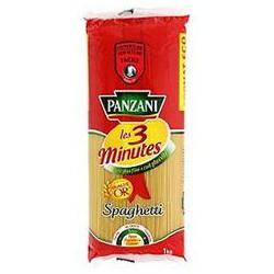 Panzani Pâtes Les 3 Minutes Spaghetti Le Paquet De 1 Kg