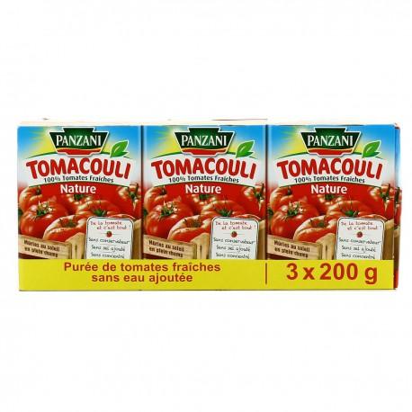 Sauce Tomacouli 3X200G Panzani